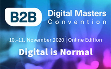 Max Meister  bei der B2B Digital Masters Convention 2020