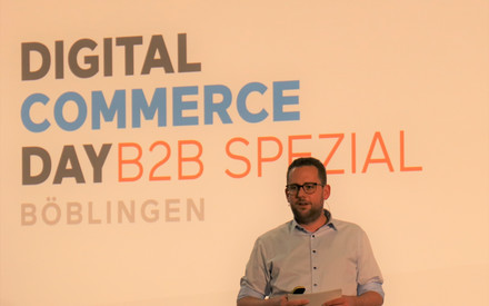 Ludwig Meister beim Digital Commerce Day 2018