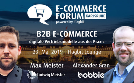 Save the date - Max Meister als Speaker auf dem Flagbit E-Commerce Forum
