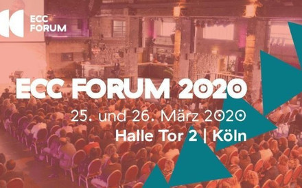 Save the date - Max Meister auf dem ECC Forum in Köln