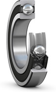 Deep groove ball bearing with seals and steel cage cut view _JPEG_Full_resolutio